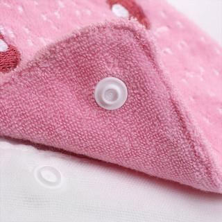 lemonkid 柠檬宝宝 LK291302 婴儿吸汗巾 粉色小兔