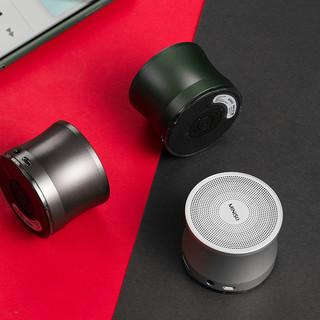 MINISO名创优品金属重低音蓝牙音箱A109立体音质小巧简约实用