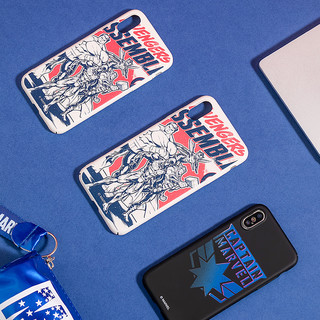 MINISO名创优品漫威复古PC手机壳iPhone全包贴合质感酷炫亲肤