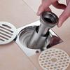 地漏防臭器芯不锈钢卫生间下水道硅胶芯封口盖水塞防反味防虫神器