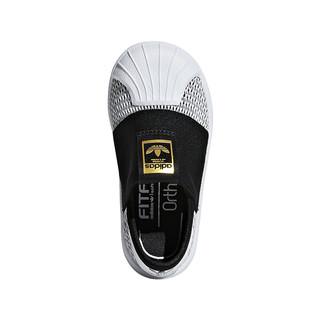 阿迪达斯三叶草童鞋夏季新款婴童宝宝经典鞋子一脚蹬运动鞋CG6585