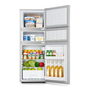YZJM 扬佳 BCD-118S158L 直冷多门冰箱 118L 拉丝银