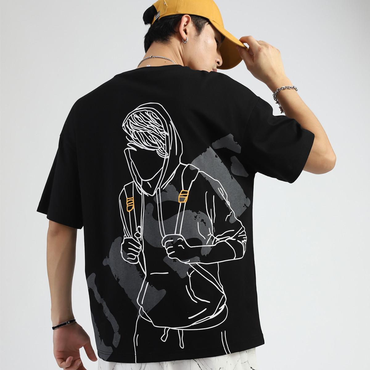 森马 ZA3A002212Y47-D037 男士t恤