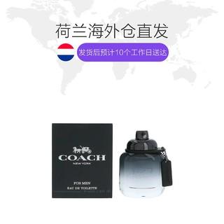 欧洲直邮COACH/蔻驰纽约马车同名男士香水40ml精致优雅性感大方