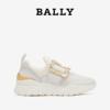 Bally/巴利2021新款BRINELLE-20-STRA女士白色皮革运动鞋6237803
