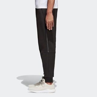 阿迪达斯官网 adidas 运动型格男装针织长裤 BQ7042 A/XL 黑