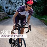 迪卡侬长距离女铁三服全程铁人三项连体贴身套装夏季骑行服OVBRC