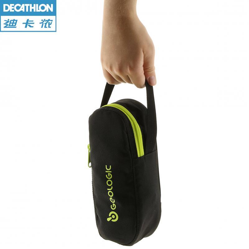 迪卡侬小金属地掷球收纳包法式滚球便携储藏设计掷球坚实球袋 2744005  黑色 均码