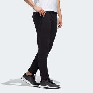 阿迪达斯官网adidas AI PNT LWFT男装运动型格梭织锥形长裤 DY8712 黑色/白 A/S