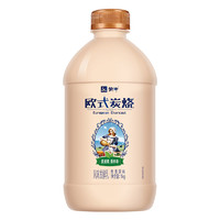 PLUS会员:MENGNIU 蒙牛 欧式炭烧  焦香原味酸奶  1kg