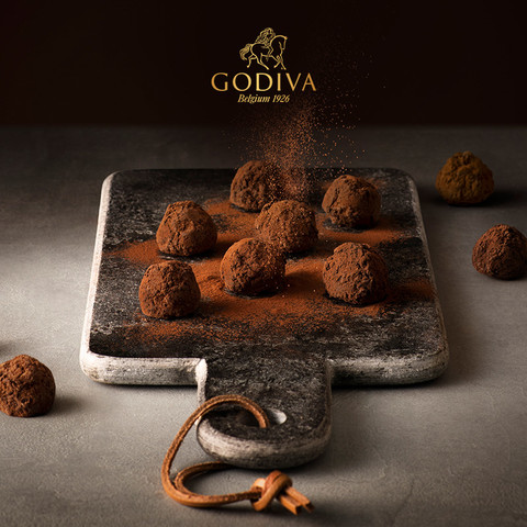 GODIVA 歌帝梵 双享经典巧克力礼盒12颗比利时进口零食520礼物