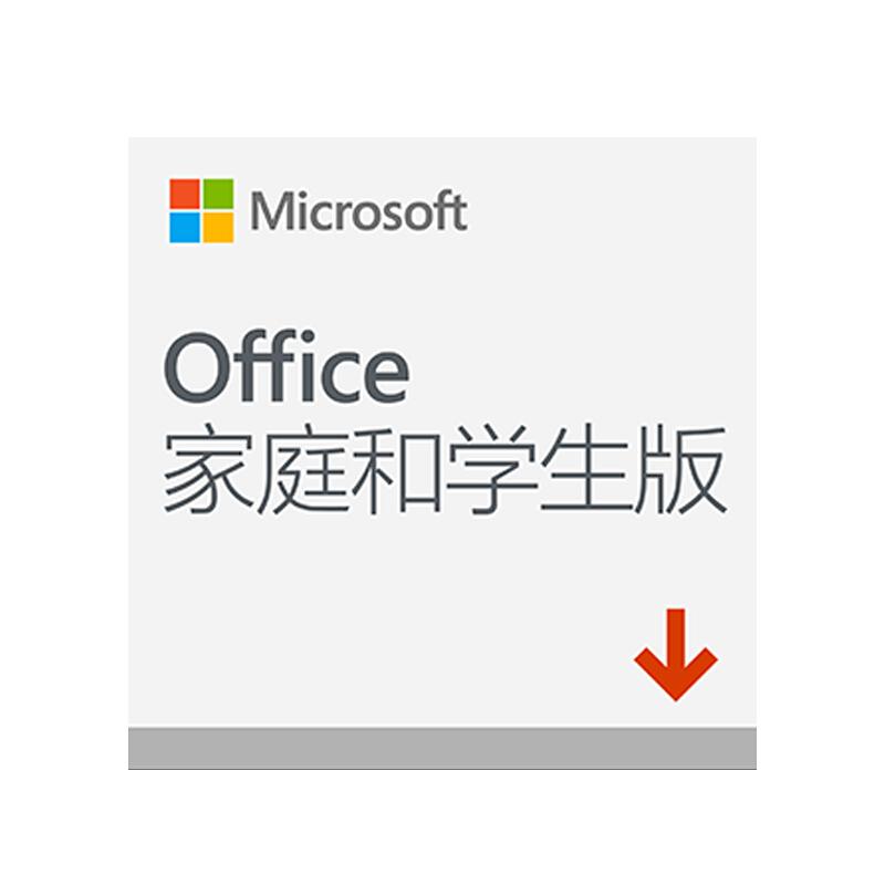 Microsoft 微软 Office 2019 家庭学生版