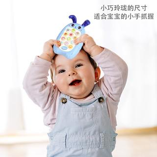 宝宝儿童益智早教音乐假电话仿真可咬2男女小孩0-1岁婴儿玩具手机