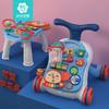 宝宝学步车手推车婴儿防侧翻o型腿学走路助步神器儿童多功能玩具