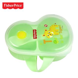 费雪便携式辅食碗勺套装宝宝外出餐具学吃饭婴儿碗勺婴儿辅食碗