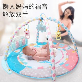 脚踏钢琴健身架婴儿玩具0-1岁新生儿宝宝早教益智音乐玩具0-3-6月