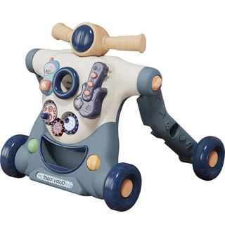 宝宝学步车多功能手推助步车防侧翻男女孩婴儿学步推车学走路玩具