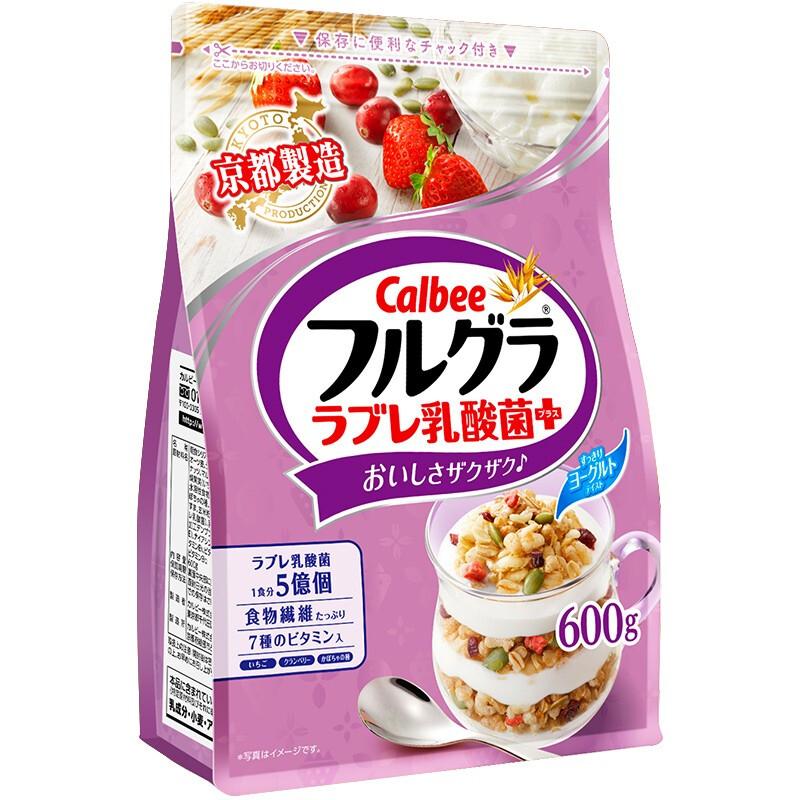 Calbee 卡乐比 乳酸菌风味水果麦片  600g