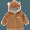 麦拉贝拉 WT73257 儿童珊瑚绒外套 浅咖色 73cm