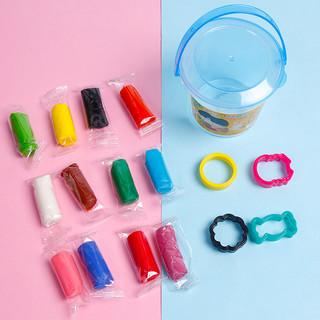 西瓜太郎儿童橡皮泥玩具套装12色24色幼儿园宝宝小学生彩泥盒装