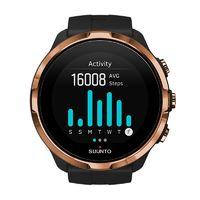 SUUNTO 颂拓 Spartan Sport Wrist HR 智能手表 50mm 古铜黑精钢表盘 古铜黑硅胶表带(GPS)