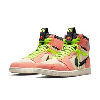 AIR JORDAN 正代系列 Air Jordan 1 Switch 男子休闲运动鞋 CW6576-800 杏黄粉/黑 40