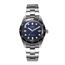 ORIS 豪利时 潜水系列65年复刻版机械男士腕表手表机械表