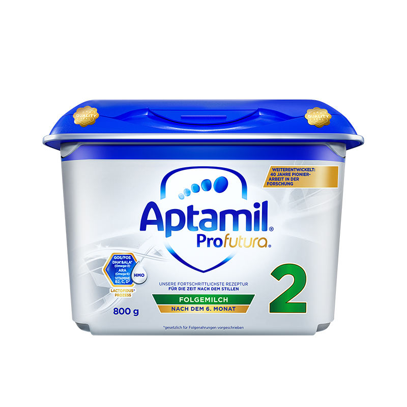 Aptamil 爱他美 德国白金版 婴儿配方奶粉 2段 800g*4罐