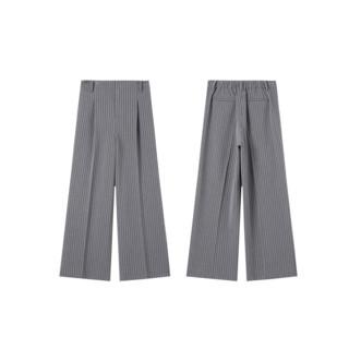 大长腿的秘密,女式宽松大直筒裤