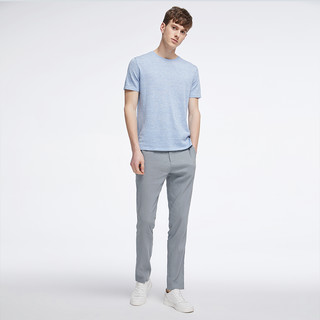 棉麻系列 男式亚麻合体休闲长裤