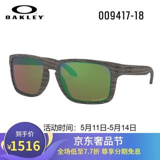 Oakley 欧克利 Oakley欧克利 新款谱锐智偏光铱镀膜太阳镜0OO9417 HOLBROOK XL 谱锐智偏光浅色0OO9417-18