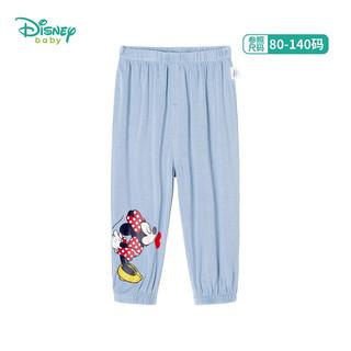 Disney 迪士尼 女童防蚊裤 浅蓝5岁/身高120cm