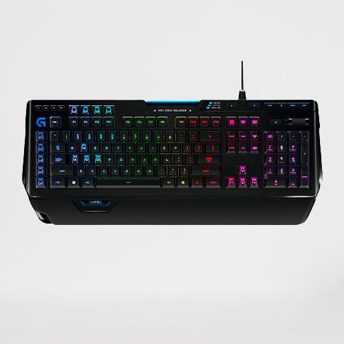 logitech 罗技 G910 有线机械键盘 104键