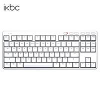 iKBC S200 无线机械键盘 87键 白色 青轴