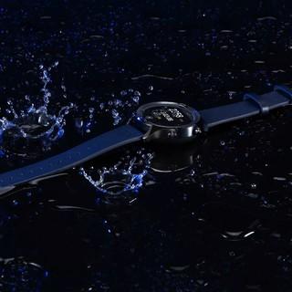 ticwatch C2 故宫联名款 智能手表 42.8mm 遂空黑不锈钢表盘 黑色牛皮表带(北斗、GPS)