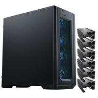 PHANTEKS 追风者 PK620PC E-ATX机箱 非侧透 黑色