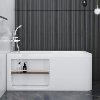 KOHLER 科勒 希尔维系列 K-99017T 独立式浴缸 1.5m 左角位