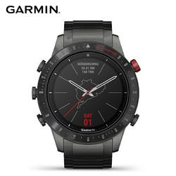 GARMIN 佳明 佳明(GARMIN)MARQ-Drive-赛车手 陶瓷表圈钛合金表壳高端智能户外GPS跑步游泳高尔夫蓝宝石镜面商务腕表