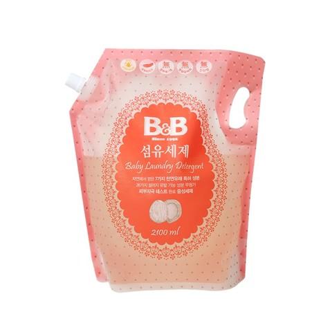 黑卡会员:B&B 保宁  婴幼儿洗衣液补充装 2100ml