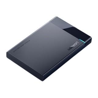 UGREEN 绿联 US221 USB3.0 2.5英寸SATA移动硬盘盒 黑色