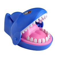 ZHIHUIYU 智慧鱼 儿童减压牙齿软胶咬手指鲨鱼玩具