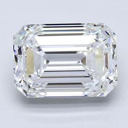 Blue Nile 3.03 克拉祖母绿切割钻石