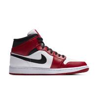 AIR JORDAN 正代系列 Air Jordan 1 MID 男子篮球鞋 554724-173 白红 43