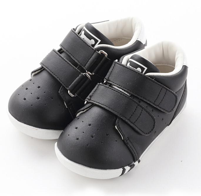 CRTARTU 卡特兔 儿童休闲鞋 黑色 2段 内长14.5cm