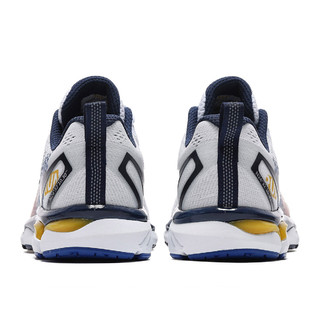 361° 新品缓震耐磨男式运动鞋男鞋跑步鞋 572032217-361度白/麒麟草黄 42