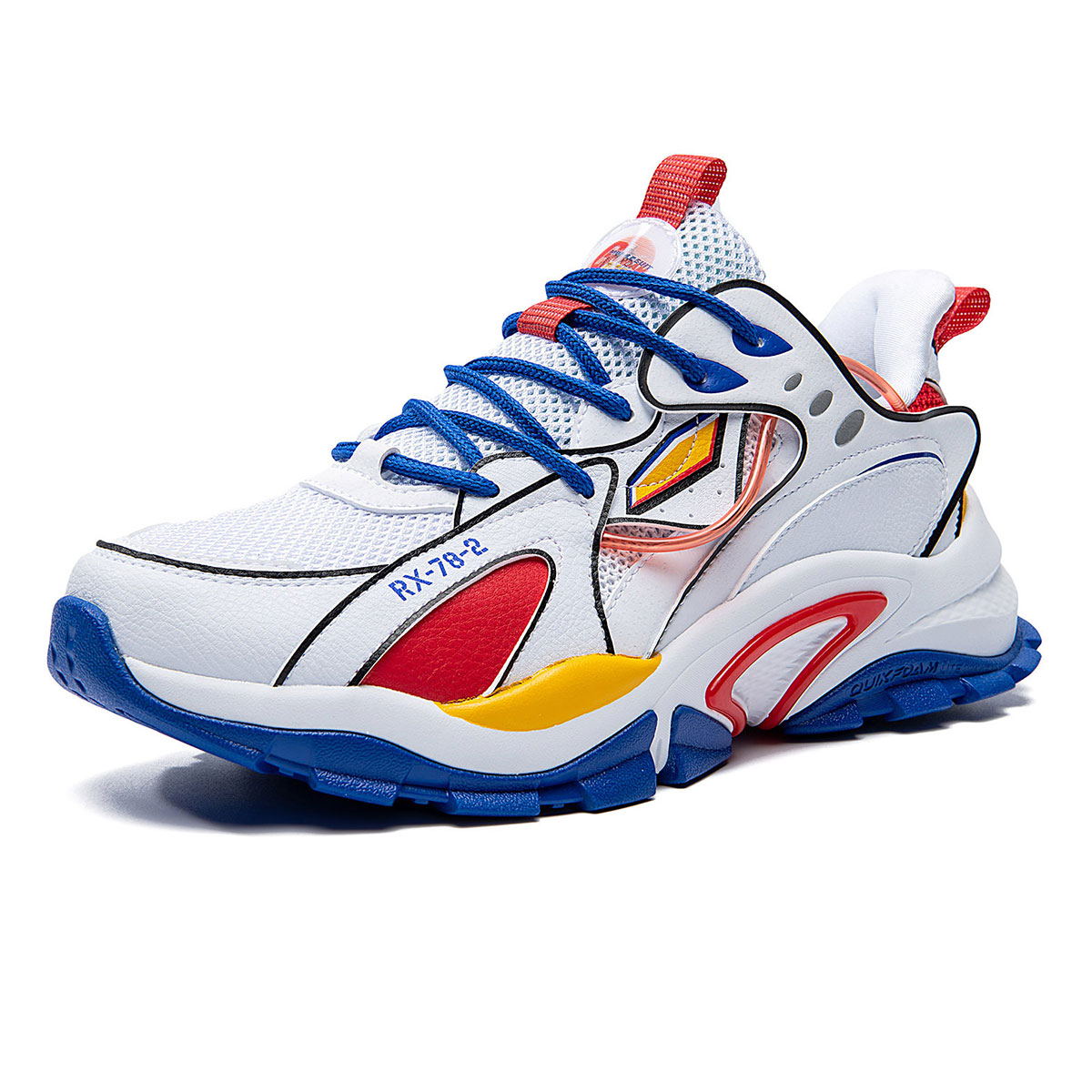 361°  21年新品轻便缓震男式运动鞋男鞋跑步鞋 672116795-1361 361度白/运动蓝361度白/运动蓝 41
