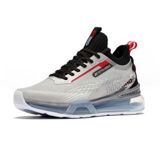 2021年春夏新品舒适轻便男款跑步鞋男鞋男运动鞋  672032207-2361 361度白/银白色 41