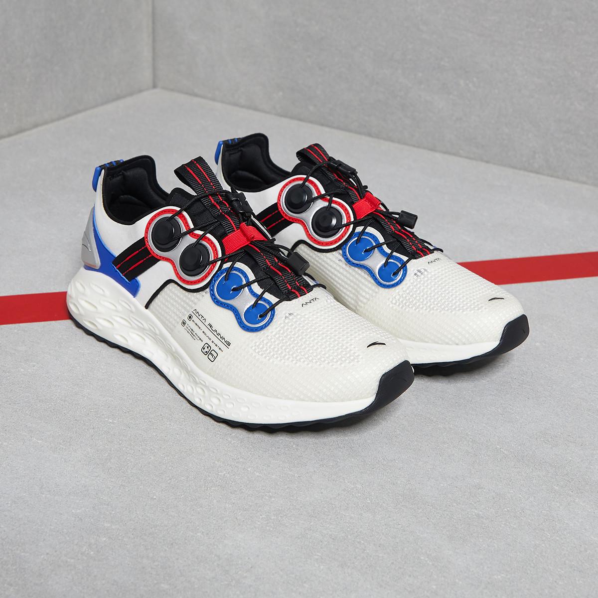安踏男款跑步鞋舒适缓震百搭休闲运动跑鞋 40
