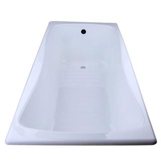 KOHLER 科勒 K-17270T-0/GR 嵌入式铸铁浴缸