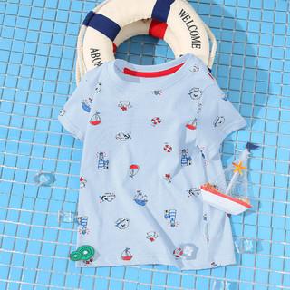 CLASSIC TEDDY 精典泰迪 精典泰迪2021夏新款儿童短袖T恤宝宝短袖T恤男女童短袖T恤
